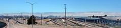 Oakland Yard and San Francisco (robmcrorie) Tags: california usa yard train oakland san francisco rail railway loco trains amtrak locomotive passenger enthusiast railways railfan