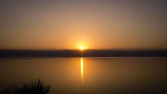 Sunset on O Beach - Dead Sea