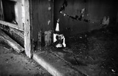 urban abandoned 35mm holga decay homeless alcoholism litter vacant 135 decrepit homelessness