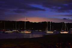 Time To Go Home (Inner Vision Productions) Tags: blue light festival night river painting island photography fireworks awesome best hour isleofwight medina inspirational isle wight 2014 mattblythe