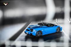 Lamborghini Gallardo Spyder fitted on Gloss Black VSM-310 (Vorsteiner) Tags: black sport wheels convertible spyder gloss lamborghini nero forged 310 gallardo vsm glossblack 3pc vorsteiner multipiece vsm310 simplysmurf