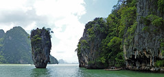 James Bond Island 03 (brentflynn76) Tags: ocean beach nature water landscape thailand island james bay photo scenery scenic jungle bond phuket kan nga khao waterscape phang tapu phing