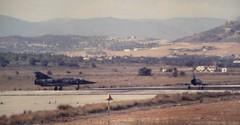 Mirage IIIs (E. Zamora) Tags: espaa valencia airplane flying europa fighter aircraft aviation air flight delta aeroplane mirage avin aeropuerto base comunidad valenciana area aircrafts aviones caza vuelo aviacin manises aeroplano aeronave ala11 fuerzaaereaespaola dessault plancheta escuadron111 escuadron112