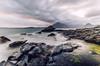 Elgol Rocks (w.mekwi photography [here & there]) Tags: longexposure seaweed green water landscape scotland rocks moody isleofskye cuillinhills jaggy elgol wmekwiphotography mekwicom