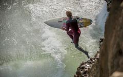 Steamer Lane / cliff jump 1 (ian boyle) Tags: california santacruz nikon surf surfing 70200 steamerlane d3 almerrick nikond3 channelislandssurfboards