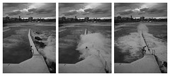 (New Dan) Tags: winter sea white black bondi june swimming triptych sydney wave australia baths rough smashed app icebergs 2012 startych
