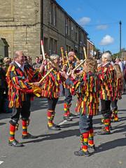 Rampant Rooster at the Sowerby Bridge Rushbearing Festival (Tim Green aka atoach) Tags: bridge festival yorkshire september rush sowerbybridge bearing calderdale sowerby rushbearing