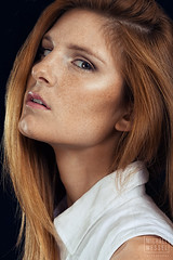 Del Coyle (mwesselphotography) Tags: beauty minnesota fashion photoshop canon hair ginger model eyes modeling makeup minneapolis style redhead mpls agency alienbee mn retouching michaelwessel