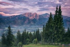 If Only Minds Could Paint Pictures (Photography Revamp) Tags: trees sky mountain clouds painting landscape poland paisagem zakopane