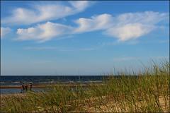 Seaside at Riga Gulf of Baltic Sea. Riga, Latvia. September 14, 2014 (Aris Jansons) Tags: sea seaside sand europe balticsea baltic latvia riga lettland 2014 rga latvija baltikum rigagulf