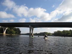 35E Bridge (the queen of subtle) Tags: fall kayak stpaul kayaking mississippiriver 2014 mightyssippi