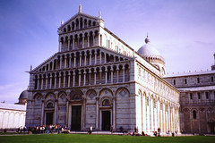 Pisa Cathedral, Pisa, Italy 1993 (johnjennings995) Tags: italy cathedral scan pisa 1993 piazzadelduomo