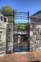 B&O Gate (podolux) Tags: md gate maryland font bo ellicottcity 2014 irongate bando fontspotting bandorailroad september2014