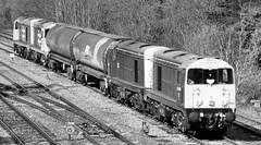 Four Twenties (R~P~M) Tags: uk greatbritain england london train diesel unitedkingdom railway locomotive 20 middlesex westruislip gbrailfreight hnrc