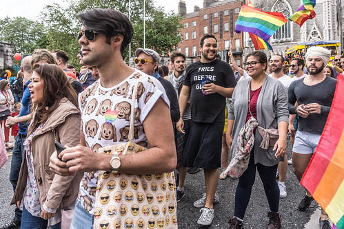 DUBLIN 2015 LGBTQ PRIDE PARADE [WERE YOU THERE] REF-105995