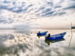 IMG_7217 ~ frontier (alongbc) Tags: sunrise morning fishingboats fishingvillage sea water sky clouds jubakar jubakarpantai tumpat kelantan malaysia travel places trip canon eos700d canoneos700d canonlens 10mm18mm wideangle