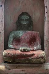 Small Buddha Statue, Ambalangoda, Sri Lanka (Peter Cook UK) Tags: sri shop ambalangoda southern antiques statue buddha lanka