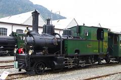 IMGP7792 (Alvier) Tags: schweiz graubünden rhb rhätischebahn landquart hauptwerkstätte tagderoffenentür triebfahrzeuge lokomotiven taufe triebzüge g34