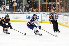 "Missouri Mavericks vs. Tulsa Oilers, March 5, 2017, Silverstein Eye Centers Arena, Independence, Missouri.  Photo: John Howe / Howe Creative Photography • <a style=""font-size:0.8em;"" href=""http://www.flickr.com/photos/134016632@N02/33158629482/"" target=""_blank"">View on Flickr</a>"