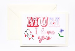 Mum I love you Mother's day handmade greeting card-2 (roisin.grace) Tags: greetingcards greetingcard handmade handpainted handmadecards handpaintedcards happymothersday mothersday mothersdaycard lovecards lovecard