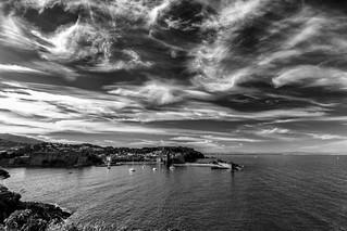 Chasseur de nuages à Collioure
