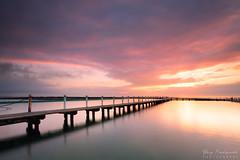 Narrabeen Pool Sunrise (-yury-) Tags: jetty pier sea ocean sunrise sunset pool dramaticsky narrabeen sydney nsw australia