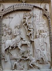 rameaux (1) (canecrabe) Tags: rameaux âne entrée jérusalem ivoire panneau tryptique constantinople empire byzance berlin musée