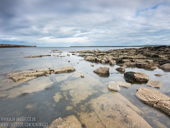 Tynemouth Haven (N.J.W Images) Tags: longexposure seascape coast 09 lee coastline tynemouth f28 whitleybay movingclouds leefilters bwnd110 tokina1116 lee09nd canon550d