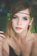 (Marielle B-R) Tags: portrait green fashion female forest canon eyes iii vine jungle 5d mk marielle reiersgard