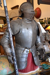 "VICTORIAN PARADE SUIT OF ARMOR. • <a style=""font-size:0.8em;"" href=""http://www.flickr.com/photos/51721355@N02/14182218449/"" target=""_blank"">View on Flickr</a>"
