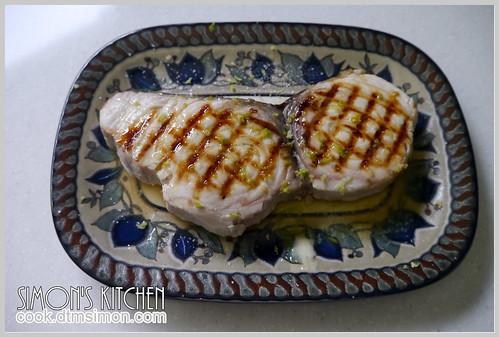 炙燒旗魚排佐檸檬奶油05