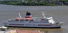 CTMA Vacancier (Jacques Trempe 2,400K hits - Merci-Thanks) Tags: port river ship quebec stlawrence stlaurent fleuve navire ctma vacancier