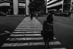 Rufino St., Makati City (Johann Fredrik Nery) Tags: street city blackandwhite bw monochrome lines fuji crossing stripes philippines pedestrian manila fujifilm makati blacknwhite fredrik johann bnw mla 18mm rufino photogrpahy nery caudal xe1 fujifilmph xpph xphhmla