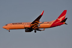 Late running Sydney hop (PJ Reading) Tags: light sunset sun afternoon low sydney brisbane final arrive late approach qantas arriving qf b737 737800 bne ybbn b738 737838 vhvzd