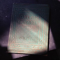 Hunting for birthday treasures (liquidnight) Tags: cameraphone camera light sunlight portland found book shadows treasure small pdx antiques monticello iphone antiquing charleslamb iphone5 dreamchildren iphoneography instagram monticelloantiques