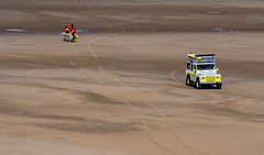 Blackpool Beach Patrol. (CWhatPhotos) Tags: pictures life camera rescue holiday beach bike wheel digital that lens four photography drive seaside sand surf day foto with view image artistic pics surfer board north guard picture july pic rover olympus quad images lancashire resort have photographs photograph fotos micro promenade land surfers guards which blackpool patrol fit contain 43 thirds lancs 2014 em10 mft esystem cwhatphotos beachpatrolrescue olympusem10 blackpoolbeachpatrol