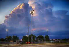 Baseball (Kansas Poetry (Patrick)) Tags: storm baseball kansas stormclouds lawrencekansas patrickemerson patricknancywalkthedogs