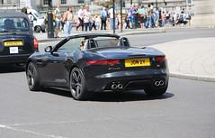 F-type S V8 (kenjonbro) Tags: uk england black london westminster trafalgarsquare sunny convertible jaguar cabrio charingcross v8 themall sw1 roadster ftype worldcars kenjonbro ftypes canoneos5dmkiii kencorner canonzoomlensef9030014556 jon2y