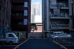 Tokyo parking lot (sinkdd) Tags: japan 35mm tokyo nikon parkinglot shinjuku f14 parking sigma kabukicho   d800  nikond800 sinkdd sigma35mmf14dghsm