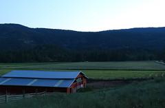Red barn (bradlebedoff) Tags: canada barn canon landscape britishcolumbia okanagan scenic fields summerland hay 18135 70d explorebc