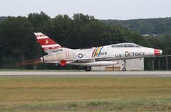 F-100F Super Sabre (clackzuk) Tags: f100 westfield northamerican supersabre f100f 63948 n2011v fw948 243224