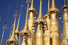 Buddhist temple (beckybarnett303) Tags: bells contrast burma religion culture buddhism monks myanmar tradition rlbphotography beckybarnett
