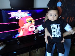 Artur Batista. Pro Wrestling Baby. And Hulkster Approved.