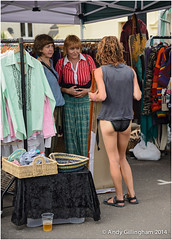 Sidmouth Folk Festival 2014-2910 (AndyG01) Tags: black festival pants folk craft stall smoking bikini sidmouth holder
