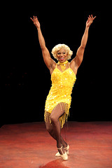 Thay Floyd (Mercedes) in La Cage aux Folles, produced by Music Circus at the Wells Fargo Pavilion August 19-24, 2014. Photos by Charr Crail.