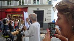 artisti su strada (mariarita.g) Tags: strada montmartre colori parigi artisti 2014