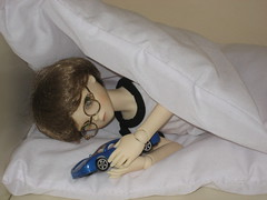 Bedtime 004 (EmpathicMonkey) Tags: toby ball asian toys dolls olive bjd photostory jointed bluefairy