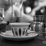 A Happy Minion @ A Lebanese Restaurant thumbnail