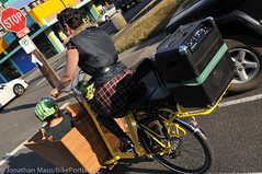 Finch-fiets unveiling at Velo Cult-23 (BikePortland.org) Tags: cargobikes metrofiets emilyfinch finchfiets