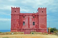 Red Tower (milka rabasa) Tags: redtower red tower torre roja malta nikond5000